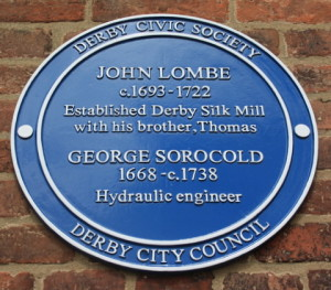 Blue Plaque at Slik Mill