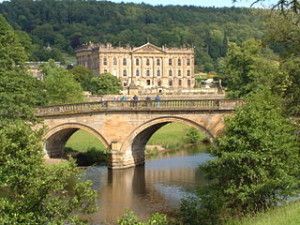 House & bridge of Chatsworth - taken by Rob Bendall