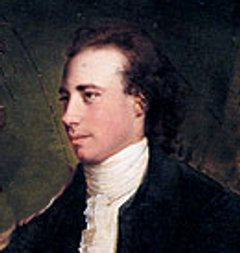 Sir Thomas Gisborne from a painting by Joseph Wright of Derby