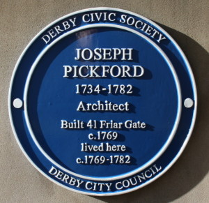 Joseph Pickford plaque
