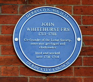 John Whitehurst Blue Plaque